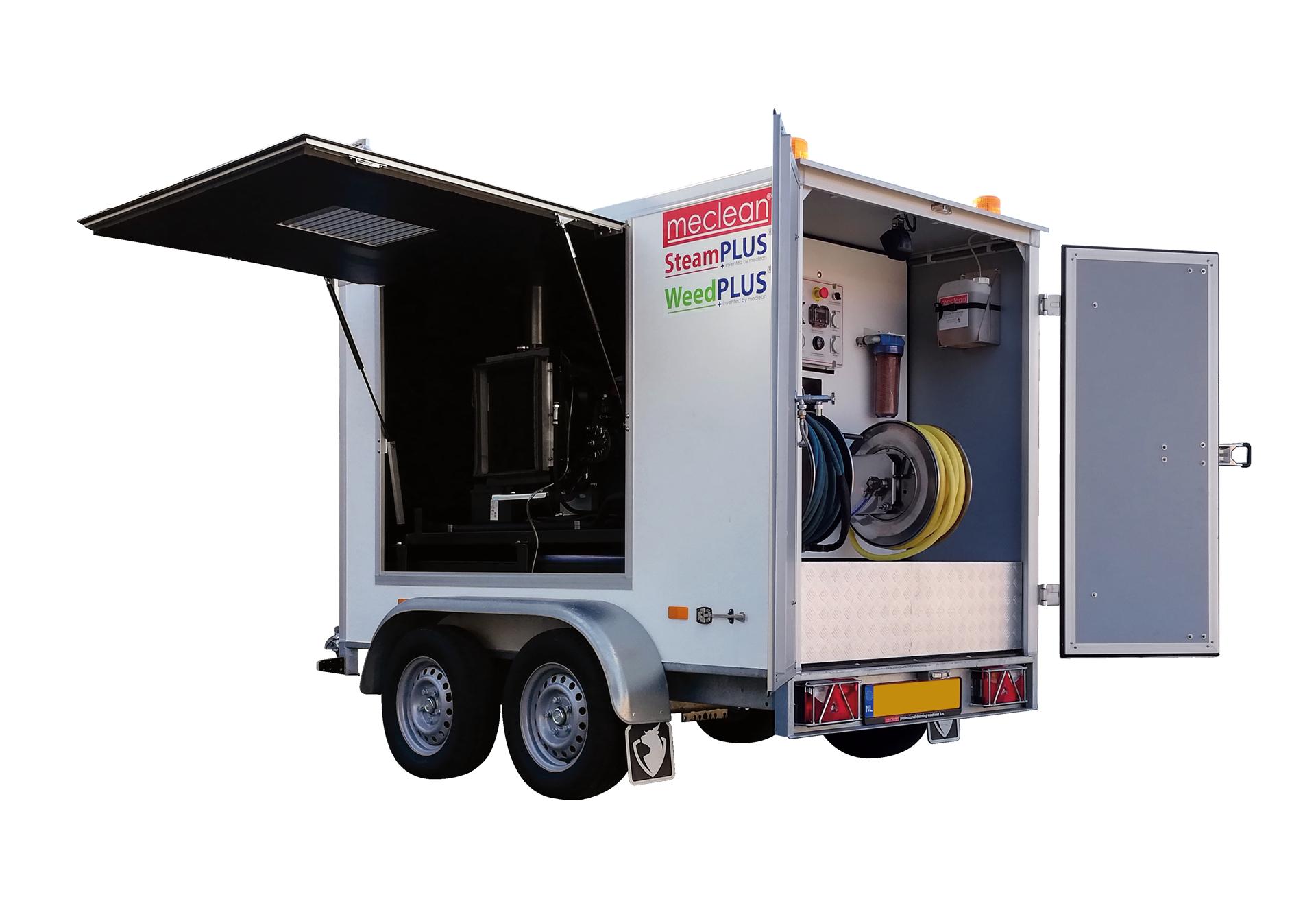 Hogedruk trailer