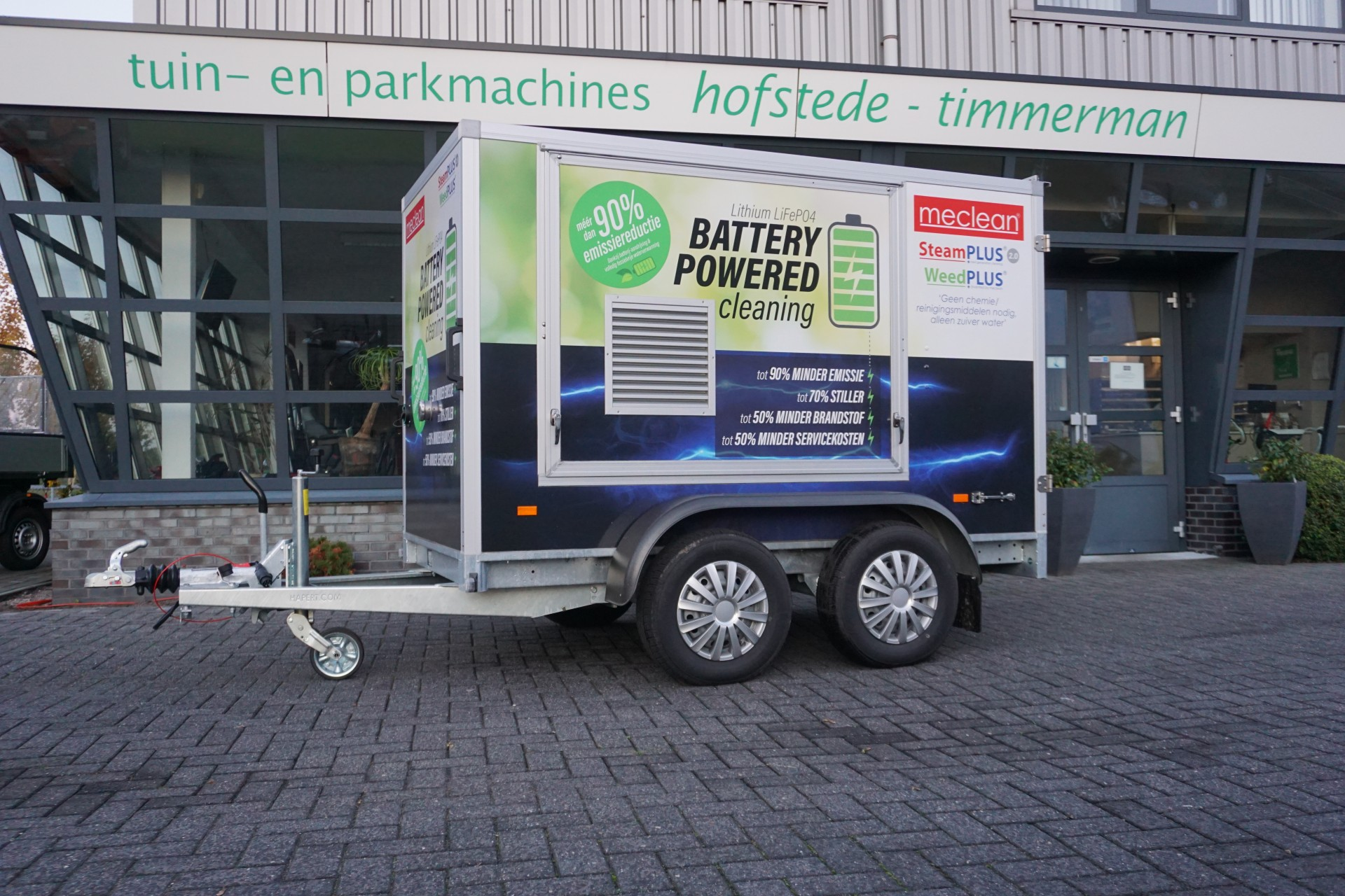 Meclean Battery powered
